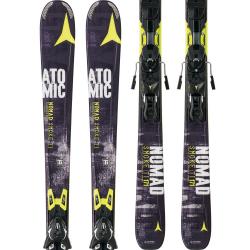 Atomic 2015 Nomad Smoke Ti All Mountain Skis with XTO 12 Bindings AASS00648