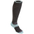 Bridgedale Women's Merino Wool All Mountain Ski Socks black jade