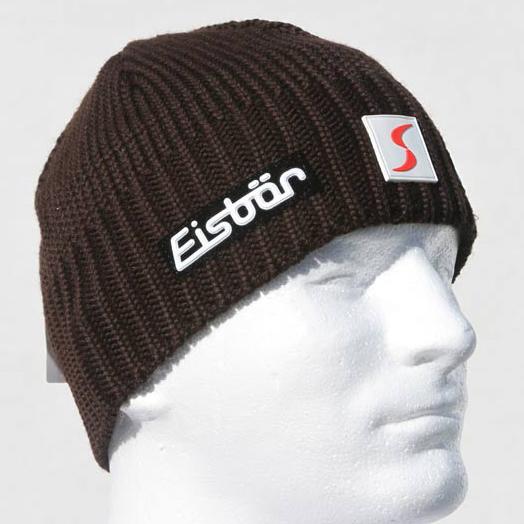 d0f6da267ae Eisbar Trop MU SP Skipool Austrian Knitted Black Beanie Hat - Winter ...