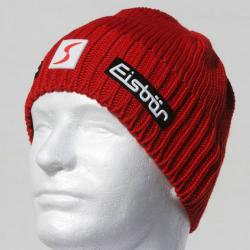 Eisbär Trop MÜ SP Skipool Austrian Knitted Red Hat : Beanie
