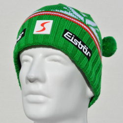 Eisbar Champ MU SP Skipool Austrian Winter Ski Beanie Hat Green