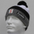 Eisbar Star Pompon MU SP Austrian Winter Ski Hat black white grey