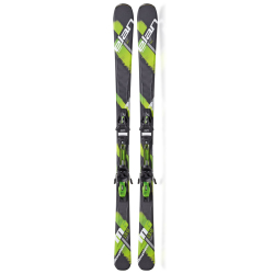 Elan 2015 Morpheo 6 Green QT Skis with EL 10.0 QT Bindings