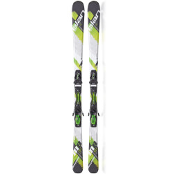 Elan 2015 Morpheo 8 Green QT Skis with EL 10.0 QT Fusion Bindings