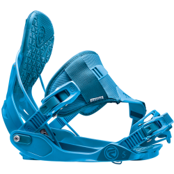 Flow Five Hybrid Strap Men's Snowboard Bindings FI14M7FIVHBLU Blue