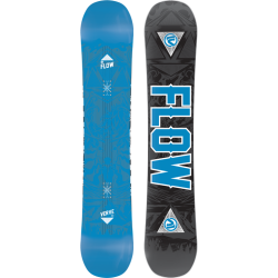 Flow Verve Twin Tip Rocker Men's Snowboard 2015 Black Blue