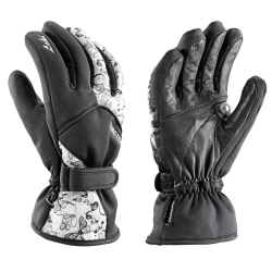 Leki Butterfly S Women's Black Ski Gloves