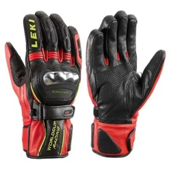 Leki WC Racing Ti S Black Ski Gloves