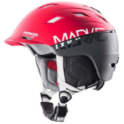 Marker 2014 Ampire 2Block Red : Steel Grey Ski Helmet