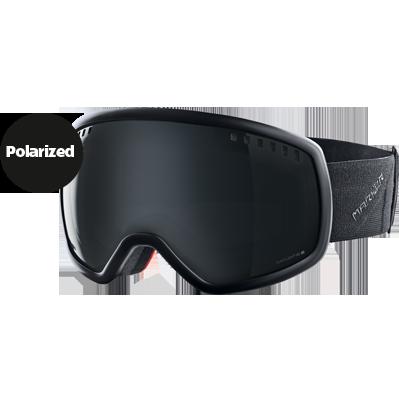 ski goggles black  Marker 2015 16:9 Black / Black Light HD Lens Ski Goggles ...
