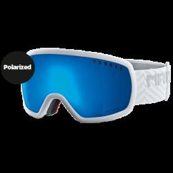 Marker 2015 16-9 White : Blue HD Mirror Lens Ski Goggles