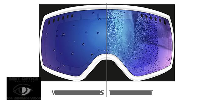 d885b9dca210 Marker 2015 Projector + White   Blue HD Mirror Lens Ski Goggles ...