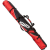 Swix Elite Expandble Single Ski Padded Bag Red Black