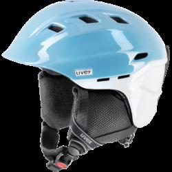 Uvex Comanche 2pure Helmet White Blue