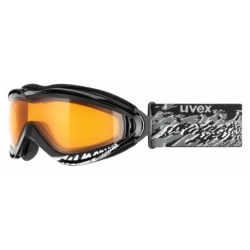 Uvex Supersonic 2 Black Goggles