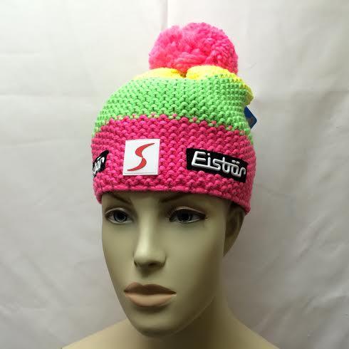 Eisbar Star Neon Pompon MU SP Austrian Winter Ski Hat - Winter Globe 8f05ad3ebc6