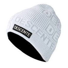 descente summit hat white