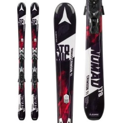 Atomic 2016 Nomad Crimson Ti ARC with XTO 12 Bindings