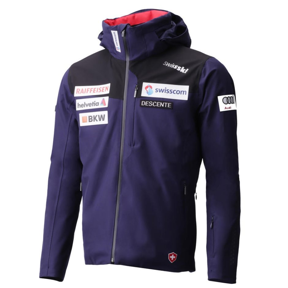 Descente 2019 Swiss Team Replica Jacket Winter Globe